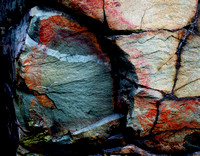 Colorful Rock Detail - Interstate Park, MN