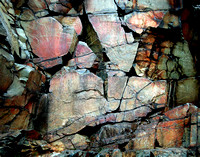 Intricate Rock Abstraction - Interstate State Park, MN