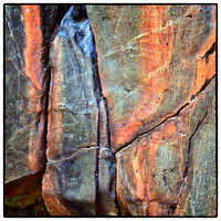 Interstate State Park Rock Wall Pattern